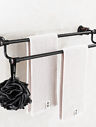 Towel Bar Oil Rubbed Bronze Wall Mounted Brass