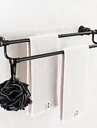 Barre porte-serviette / Cuivre huilé