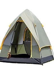 CAMEL 3-4 человека Световой тент Двойная Палатка Однокомнатная Автоматический тент Хорошая вентиляция Защита от пыли Складной для Отдых и