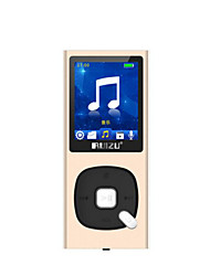 RUIZU X28 8G Gold Lossless Music Player with Screen Mini Walkman MP3 / MP4