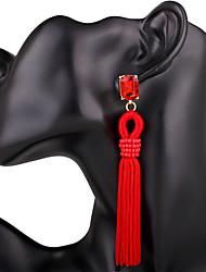 Mujer Pendientes colgantes cuelga los pendientes Cristal Diseño Básico Diseño Único Colgante Geométrico joyería de disfraz Bikini Moda