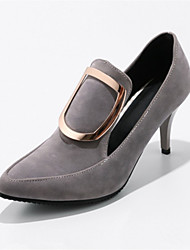 Women's Heels Formal Shoes Novelty Customized Materials Leatherette Spring Fall Office & Career Dress Formal Shoes Novelty RuchedStiletto