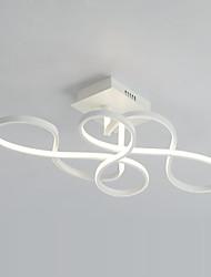 Montaje empotrado, característica moderna / contemporánea de la pintura para el bulbo incluido salón de aluminio dormitorio estudio /