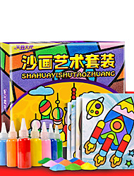 DIY KIT Art & Drawing Toy Toys Square Painting DIY Children's Pieces