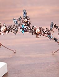 Imitation de perle Alliage Casque-Mariage Anniversaire Serre-tête 1 Pièce
