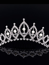 Children's Hair Crown Comb  Bridal Crown Kids Jewelry of the Girls Tiaras Wedding Gifts Bride Headwear Accessories Women