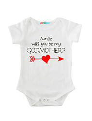 Baby Print One-Pieces Cotton Summer Short Sleeve Baby Romper Heart Infant Newborn Bodysuits Jumpsuits