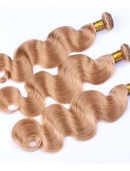 Beata Hair Honey Blonde Malaysian Hair Weave Color #27 3 Bundles 10-24 inch Cheap Malaysain Virgin Hair Body Wave Remy Hair