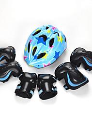Niños Adulto Equipo de protección Rodilleras, coderas y muñequeras Casco de patinaje para Ciclismo Skateboarding Patines en Línea Patines