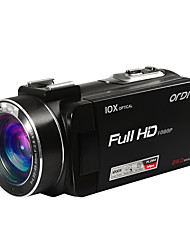 ORDRO HDV-Z82 Camcorder 1080P FULL HD 10X Optical Zoom 24MP Image Resolution