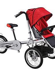 Bicicletas Confort Bicicletas plegables Ciclismo 16 pulgadas Disco de Freno Sin Amortiguador Cuadro de Acero Ordinario Acero