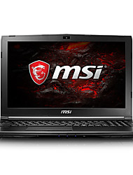 Msi gaming laptop 15.6 pouces intel i7-7700hq 8gb ddr4 128gb ssd 1tb hdd windows10 gtx1050 2gb gl62m 7rd-223cn