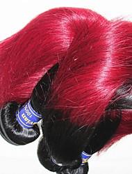 Оптовые перуанские прямые человеческие волосы 1kg 10pieces lot оригинальные 10a virgin выдвижения волос ткут color1b / 99j
