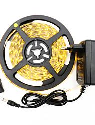 36W Tiras LED Flexibles 3400-3500 lm DC12 V 5 m 300 leds Blanco cálido Blanco