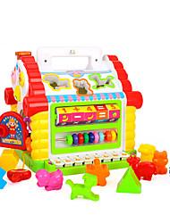Costruzioni Accessori per casa bambole Abaco Puzzle di legno per il regalo Costruzioni Plastica 1-3 anni Giocattoli