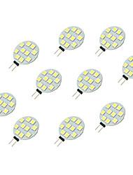 2W Luci LED Bi-pin 10 SMD 5050 160 lm Bianco DC 12 V 10 pezzi