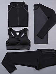 Women's Long Sleeve Running Compression Clothing Tracksuit Underwear Clothing SuitsCycling Camping & Hiking Fitness, Running & Yoga