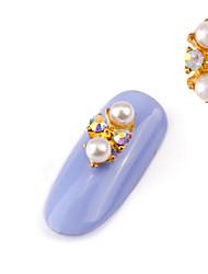 2PCS  Alloy  Diamante Luxury  Jewel Nail Art Decoration