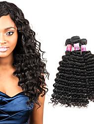 Peruvian Virgin Hair 3 Bundles 100% Human Hair Bundles Deep Wave 300g/Set