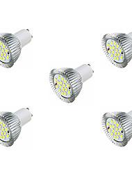 3.5 Faretti LED MR16 16 SMD 5630 360-400 lm Bianco caldo Bianco AC 220-240 V 5 pezzi