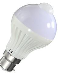 5W Умная LED лампа A60(A19) 10 SMD 5730 450 lm Тёплый белый Холодный белыйИнфракрасный датчик Датчик человеческого тела Управление