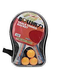 Ping Pang/Table Tennis Rackets Ping Pang/Table Tennis Ball Ping Pang Rubber Long Handle Pimples2 Rackets 3 Table Tennis Balls 1 Table