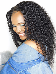 Capelli umani brasiliani 100% capelli vergini brasiliani capelli umani glueless con capelli del bambino per gli americani africani