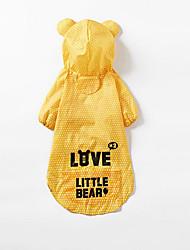 Hund Regenmantel Hundekleidung Lässig/Alltäglich Polka Dots