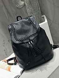 Women Bags All Seasons PU Sports & Leisure Bag with for Casual Black