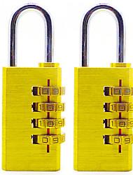 Сброс rst-055 медный пароль padlock четыре цифровых пароля большой замок против блокировки блокировки 6 для установки блокировки пароля