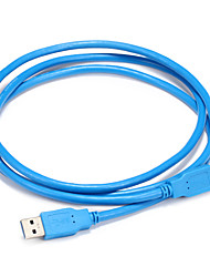 USB 3.0 Cable, USB 3.0 to USB 3.0 Cable Male - Male 1.5m(5Ft)