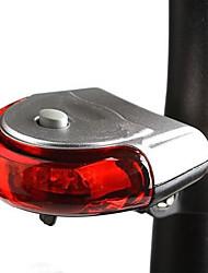 Eclairage de Vélo / bicyclette Lampe Arrière de Vélo Cyclisme Portable Designers Lumens Batterie Rouge Usage quotidien