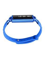 Men's Smart Watch Fashion Watch Digital Silicone Band Black Blue