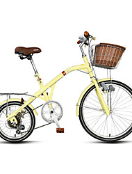 Comfort Bike Cycling 7 Speed 16 Inch 24 Inch RIPIN Center-pull Caliper Brake Fixed Non-Damping Ordinary/Standard Steel