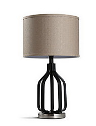 Modern Minimalist Cloth American Creative Retro Iron Decorative Table Lamp