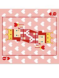 Halo exclusivo tapete de rato de pano original alice no país das maravilhas desenhos animados bonitos pintados à mão 22 * 18cm