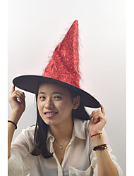 Golden Long Hair The Witch Hat Color Color Random