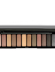 12 Colors Eyeshadow Palette Waterproof Make Up Nude Pigments Professional Eyeshadow Palette
