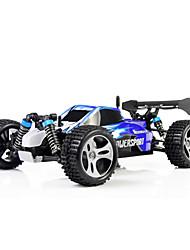 Гоночный багги 1:18 Коллекторный электромотор Машинка на радиоуправлении 45 2.4G 1 x Руководство 1 х зарядное устройство 1 х RC автомобиль