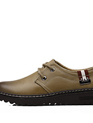 Men's Sneakers Formal Shoes Comfort Light Soles Real Leather Cowhide Fall Winter Casual Outdoor Office & CareerFormal Shoes Comfort Light