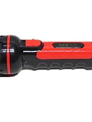Handheld Plastic LED Flashlight Outdoor Camping Home Light Long-Range Rechargeable Flashlight