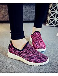 Women's Sneakers Comfort Tulle Spring Casual Comfort Ruby Light Grey Dark Grey Fuchsia Black Under 1in