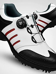 Golf Shoes Men's Golf Wearable Breathable Training Casual Sports Outdoor Performance Practise Sporty Nappa Leather Cowhide Rubber