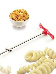 Manual Vegetable Roller Spiral Slicer Radish Potato Tools Spiral Cutter Kitchen