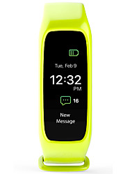 L30T Pulsera Smart iOS AndroidIP67 Resistente al Agua Calorías Quemadas Podómetros Monitor de Pulso Cardiaco Despertador Pantalla táctil