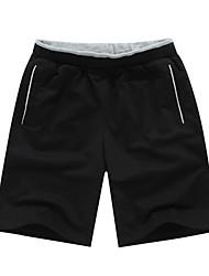 Per uomo Pantaloncini da corsa Casual Pantaloncini /Cosciali per Corsa Esercizi di fitness Tessuto sintetico Largo L XL XXL XXXL XXL-XXXL