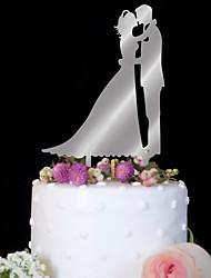 Decorações de Bolo Alta qualidade Casamento Aniversário Festa Casamento Aniversário Bolsa PVS