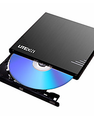 EBAU108 LITEON 8x USB2.0 External Optical Drive DVD Burner Mobile Drive