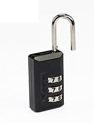 Bloqueio mestre 646mcnd senha desbloqueada senha de 3 dígitos bloqueio da chave bloqueio e bloqueio de senha