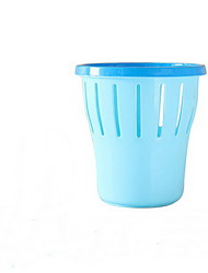 With A Circle Of Household Kitchen Living Room Toilet Plastic Garbage Basket